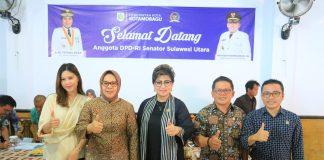 Wali Kota dan Wawali Kotamobagu Sambut Kunjungan Kerja Tiga Anggota DPD RI