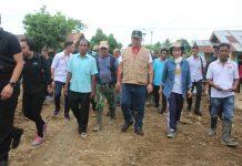 Bupati Bolmong Dampingi Wagub Sulut Tinjau Lokasi Banjir Bandang