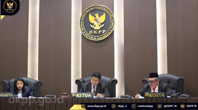 Ketua Bawaslu Bolsel Dijatuhi Sanksi Pemberhentian Tetap oleh DKPP