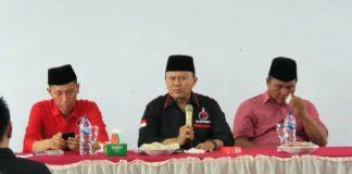 Tatap Muka dengan DPC, H2M Minta Kader PDIP Bolsel Bangun Soliditas