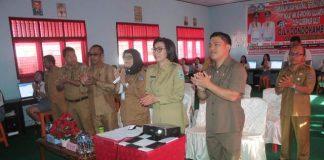 Bupati Bolmong Buka UNBK Tingkat SMK