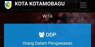 Update Covid-19 Hari Ini di Kotamobagu, 73 ODP dan 3 PDP