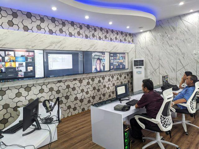 Pemkab Bolmong Uji Coba Teleconference