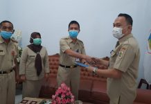 Indrawan 'Aso' Mokoginta Jabat Plt Sekretaris DLH Kotamobagu