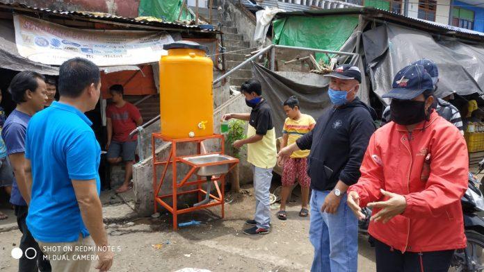 Pemkot Kotamobagu Siapkan Tempat Cuci Tangan di Pasar