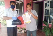 PKS Kotamobagu Berbagi Sembako Bantu Masyarakat Terdampak Covid-19