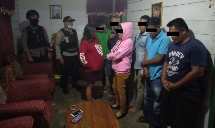 Tim Anoa Polres Kotamobagu Gerebek Tempat Prostitusi dan Pesta Miras di Passi 2