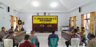 Gelar Pra Operasi Ketupat Covid-19, Kapolres Kotamobagu Sebut Operasi Ketupat Tahun Ini Berbeda