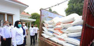 Pemkot Kotamobagu Mulai Distribusikan Bantuan Beras untuk Masyarakat