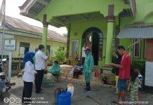Cegah Covid-19, Pemkab Bolmong Semprot Disinfektan di Tempat Umun hingga Rumah Warga
