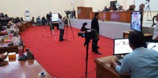 DPRD Bersama Pemkab Bolmong Gelar Paripurna Lewat Vicon