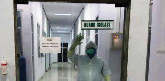 Pasien Positif Covid-19 Asal Bolmong Jalani Isolasi di RSUD Datoe Binangkang