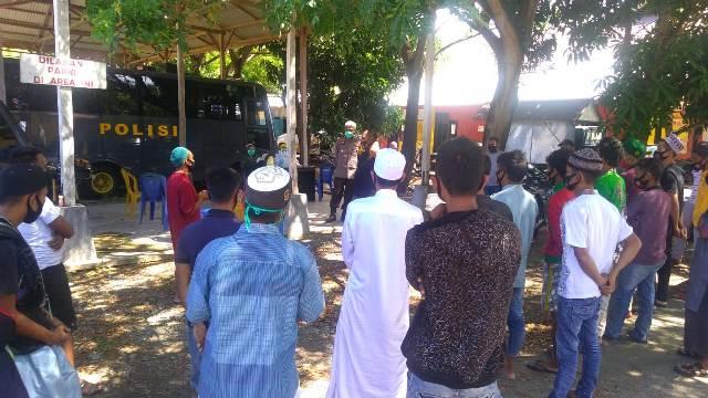 21 Terduga Pelaku Penganiayaan Anggota Linmas di Desa Lripubogu Jalani Proses Hukum di Polres Buol