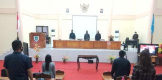 DPRD Bolmong Gelar Paripurna LKPJ Bupati Tahun 2019
