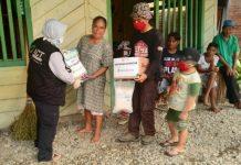 ACT Salurkan Bantuan Dari Global Giving ke Warga Bolmut