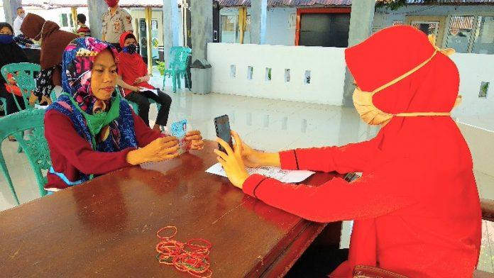 569 KPM di Kotamobagu Selatan Hari Ini Terima Uang Rp 600.000 Dari Kemensos