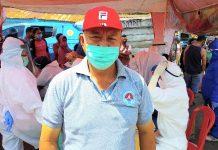 Herman Aray: Pedagang Pasar Yang Tak Melakukan Rapid Test Dilarang Berjualan