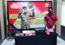 Bertempat di Mapolres Buol, Jumat (22/05/2020), digelar konferensi pers terkait tindak pidana kriminal peredaran uang palsu (Upal) yang terjadi di wilayah Kabupaten Buol.