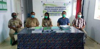 Pertama di Indonesia Dinkes Kotamobagu Uji Kompetensi Jabatan Fungsional Nakes Secara Online