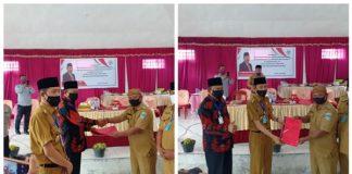 Bupati dan Wakil Bupati Bolsel Dampingi Anggota DPR RI Meninjau Desa Pelaksanaan Program Kotaku