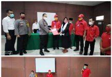 DPC PDIP Bolsel Laporkan Aksi Pembakaran Bendera Partai ke Polres