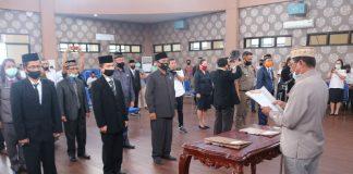 Bupati Boltim Lantik Pejabat Berstatus Plt Jadi Definitif