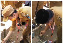 Bupati dan Wabup Bolsel Sumbang 150 Zak Semen pada Peletakan Batu Pertama Pembangunan MTs Fastabiqulkhiraat