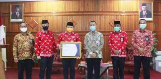 Pemkab Bolsel Raih Penghargaan Level 3 Kapabilitas APIP dari BPKP