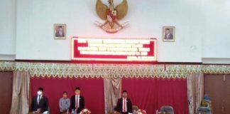 Semua Fraksi DPRD Bolsel Menerima Ranperda LKPj APBD Tahun 2019 Menjadi Perda