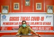 Gugus tugas Covid-19 di Provinsi Sulawesi Utara (Sulut) kembali mengumumkan update terbaru perkembangan Covid-19 di Sulut, hingga Senin (22/6/2020).