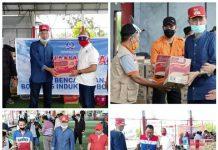 Bantuan untuk Korban Banjir di Bolsel Terus Berdatangan, Bupati Ucapkan Terima Kasih