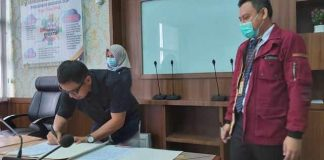 BPKD Bolmut, KPPN dan KPP Pratama Kotamobagu Tandatangani BAR Hasil Rekonsiliasi Pajak Semester I 2020