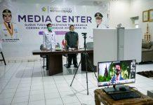 Nayodo Koerniawan Ikut Upacara Peringatan HUT Bhayangkara ke-74 Secara Virtual