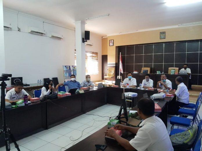 Bappelitbangda, BPKD dan Kominfo Kotamobagu Ikuti Sosialisasi SIPD Secara Virtual