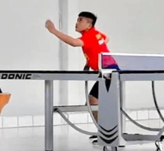 Petenis Meja Muda Ini Kalahkan Seniornya dengan Skor Akhir 3-2