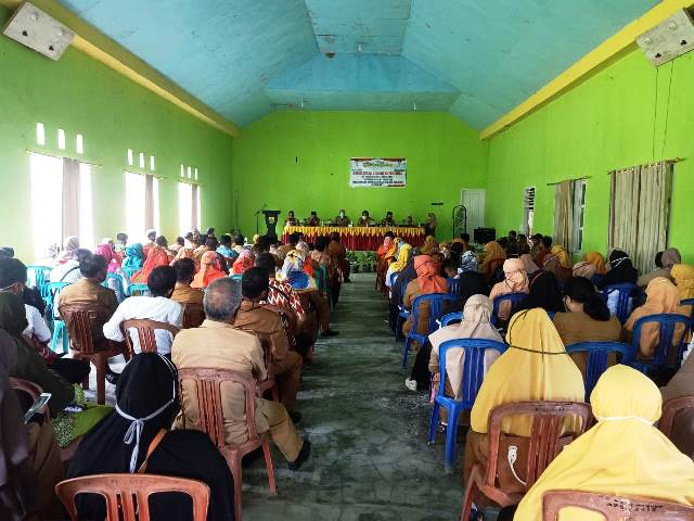 Wabup Buol Monitoring Proses KBM Sekolah Dimasa Pandemi Covid-19