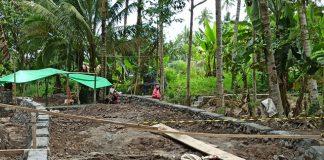 Progres Pekerjaan Jembatan Penghubung Kotamobagu dan Boltim Sudah 55 Persen