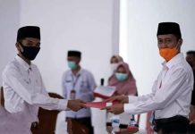 45 CPNS Tahun 2018 di Bolsel Terima SK Alih Status Menjadi PNS Golongan II