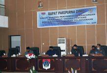 DPRD Boltim Gelar Ranperda tentang Pertanggungjawaban APBD Tahun Anggaran 2019