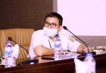 Pemkab Bolmut Ikuti Video Conference Bersama KPK RI