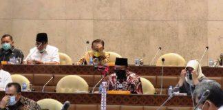 Rapat Kerja Bersama Tiga Kementerian, Herson Titip Pesan Soal Kesejateraan Pendamping Desa