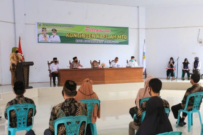 Tatong Bara Siapkan APD Untuk Kontingen Kalifah MTQ