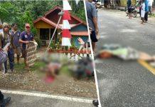 Kecelakaan di Inuai, Dua Guru Meninggal di Tempat