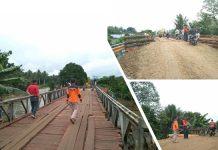 Jembatan Kosio Sudah Bisa Dilewati Kendaraan
