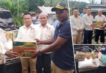 KKSS Bolmong Bantu Korban Banjir Dumoga