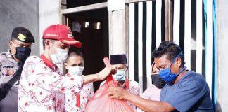 Pemkab Bolsel Mulai Salurkan Bantuan Tahap Empat kepada Masyarakat Terdampak Covid-19