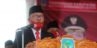 Ketua DPRD Bolsel Didaulat Bacakan Teks Proklamasi Hari Kemerdekaan RI ke-75