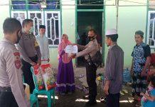 Aksi Sosial Ketua Bhayangkari Buol Berbagi Bersama Warga