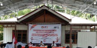 KPU Boltim Gelar Pengukuhan Relawan Demokrasi pada Pemilihan 2020