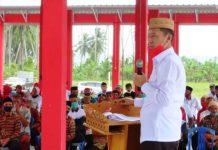 Bupati Sampaikan Beberapa Harapan Saat Meresmikan Dua Pasar Tradisional di Kecamatan Posigadan